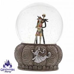 Boule à neige Sally et Jack Skellington - Enesco - 16cm