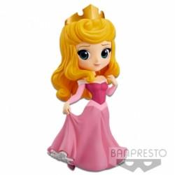 Q POSKET DISNEY Princesse Aurore dans sa robe rose - 14cm