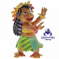 Statuette résine Lilo dansant le Hula - Enesco Britto