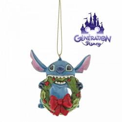 Ornement résine Stitch Noël...