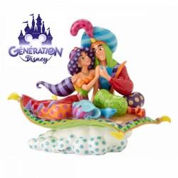 Statue résine Jasmine et Aladdin, Ce rêve Bleu - Enesco by Britto - 25ème anniversaire