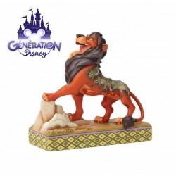 Statue Scar et les hyènes...