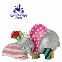 Statue résine Dumbo 15cm -...