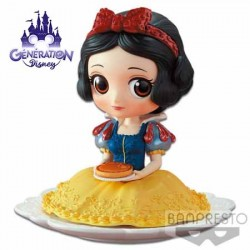 Q Posket Blanche Neige Sugirly tarte aux pommes - Disney 14cm