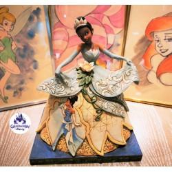 """Statue résine princesse Tiana """"Dreams do come true"""" - Enesco by Jim Shore"""