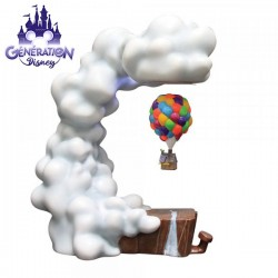 """Statue Là-haut maison lévitant """"UP Levitating House """"- Enesco Grand Jesters"""