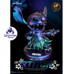 Statue résine Stitch Hula...