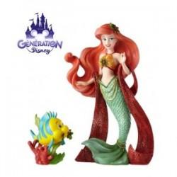Statuette résine Ariel et...