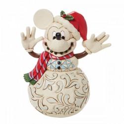 "Mickey  ""Snowman"" by Jim Shore"