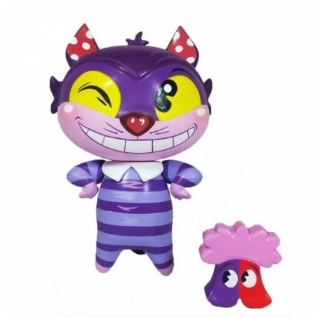Figurine vinyl du chat Cheshire de Alice - Collection Miss Mindy
